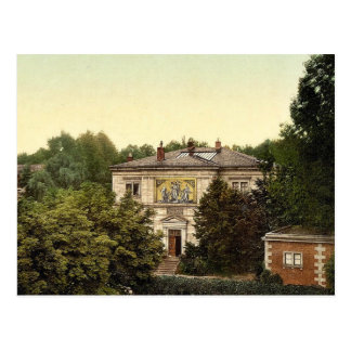 Wagner's house, Bayreuth, Bavaria, Germany classic Postcard