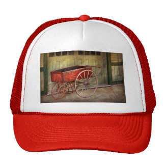Wagon - That old red wagon Trucker Hat