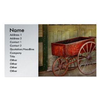 Wagon - That old red wagon Business Cards