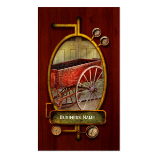 Wagon - That old red wagon Business Card