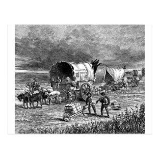 wagon-trains-1Lightning Express-Thayer.jpg Postcard