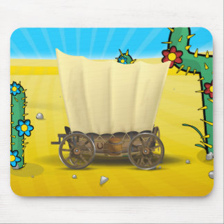Wagon West Mouse Pad