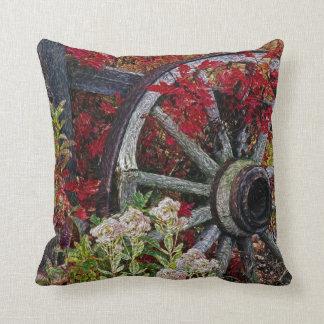 Wagon Wheel 1 Pillow