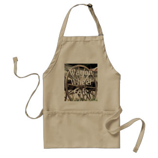 Wagon Wheel Cafe Apron