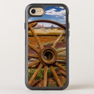 Wagon wheel close up, Arizona OtterBox Symmetry iPhone 8/7 Case