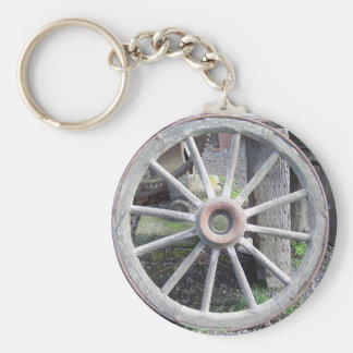 Wagon Wheel Key Ring