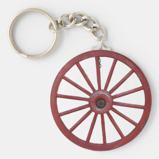 WAGON WHEEL-KEYCHAIN KEY RING