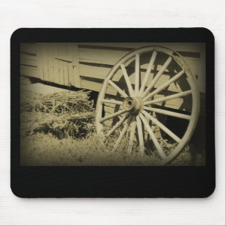 Wagon Wheel Mouse Pad