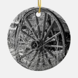 Wagon Wheel Ornament