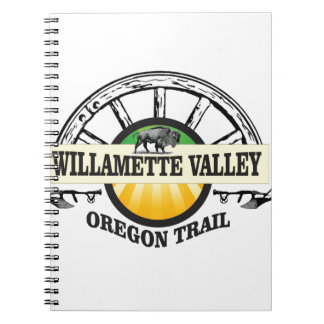 wagon wheel WV Spiral Notebook