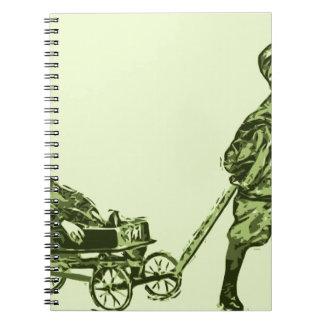 Wagon Wheels Notebook