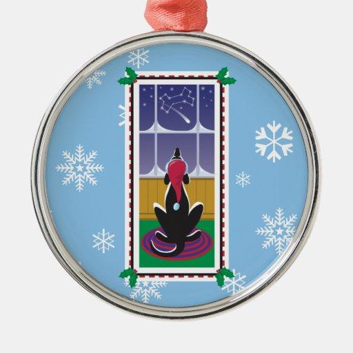 WagsToWishes_Dog Bone Stars Christmas Tree Ornaments