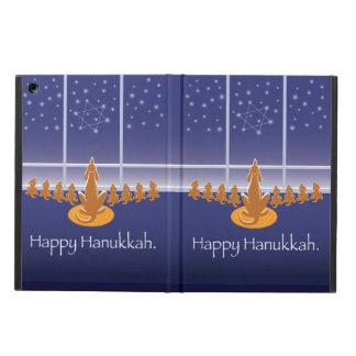WagsToWishes_Menorah Dogs_Happy Hanukkah iPad Air Cases