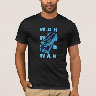 WAH WAH Guitar Pedal Blue Green style 2 T-Shirt