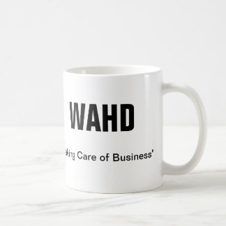 WAHD BASIC WHITE MUG