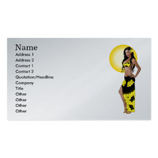 Wahine Pinup 1 Business Cards