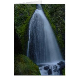 Wahkeena Falls, Oregon Card