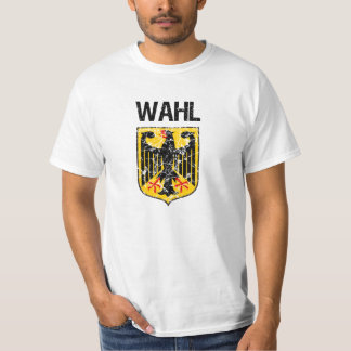 Wahl Last Name T-Shirt