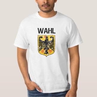 Wahl Last Name Tshirt