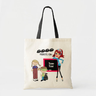 WAHM advertising  Budget Tote Budget Tote Bag