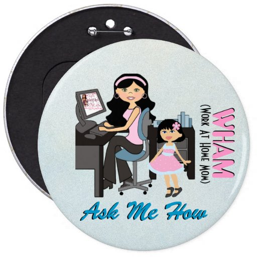 WAHM Business Button