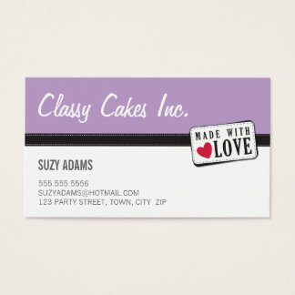 WAHM BUSINESS CARDS :: made with love 4