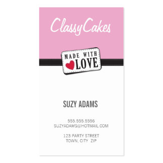 WAHM BUSINESS CARDS :: made with love 5