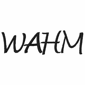 WAHM EMBROIDERED HOODIE