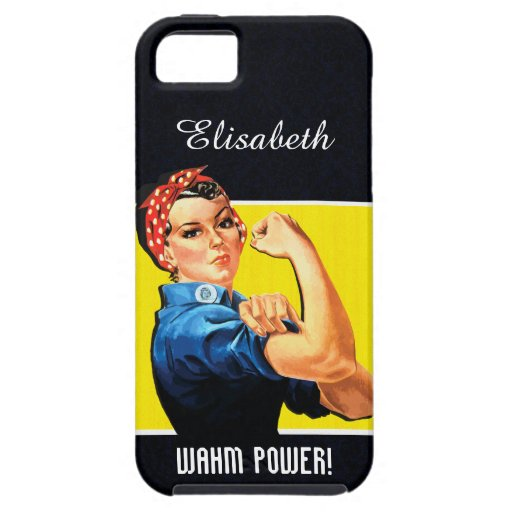WAHM Power! - Work at Home Mom iPhone 5 Case