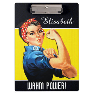 WAHM Power! - Work at Home Mom Clipboard