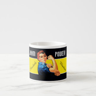WAHM Power! - Work at Home Mom Espresso Mug