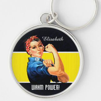 WAHM Power! - Work at Home Mom Keychains