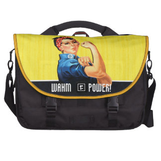 WAHM Power! - Work at Home Mom Laptop Messenger Bag