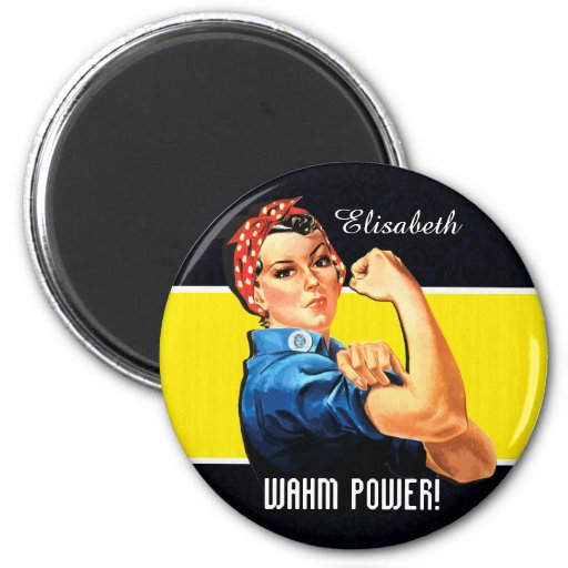WAHM Power! - Work at Home Mom Magnet