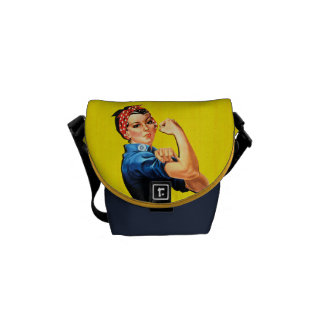 WAHM Power! - Work at Home Mom Messenger Bag