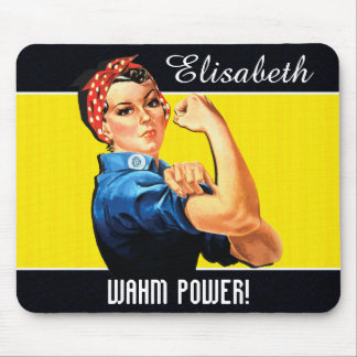 WAHM Power! - Work at Home Mom Mouse Pad
