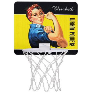 WAHM Power! - Work at Home Mom Mini Basketball Backboard