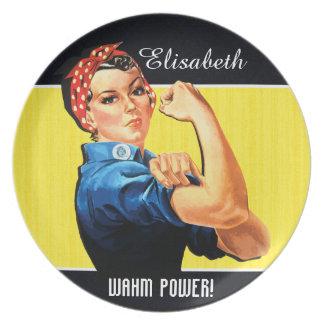 WAHM Power! - Work at Home Mom Dinner Plates