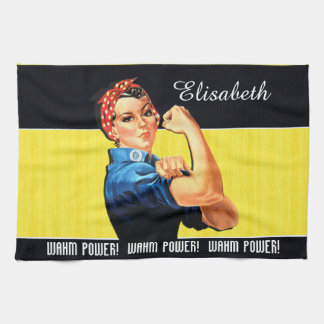 WAHM Power! - Work at Home Mom Towel