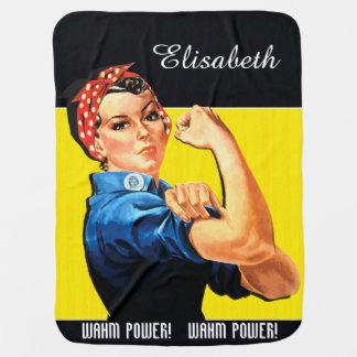 WAHM Power! - Work at Home Mom Stroller Blanket