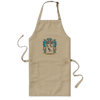 Wahnke Coat of Arms - Family Crest Long Apron