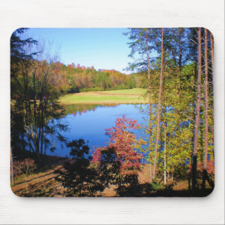 wahoo fall full color mouse pad