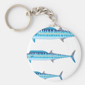 Wahoo_Vector_L Key Ring