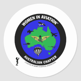 WAI Australia Round Sticker