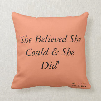 WAI Australian Chapter Inspirational Pillow