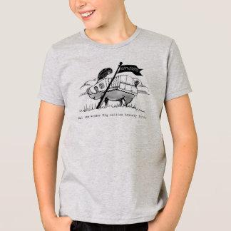 Wai - Kids T Shirt,  artwork by Charlotte Moore T-Shirt