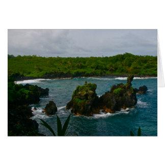 Waianapanapa State Park, Maui Card