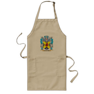 Waidson Coat of Arms - Family Crest Long Apron