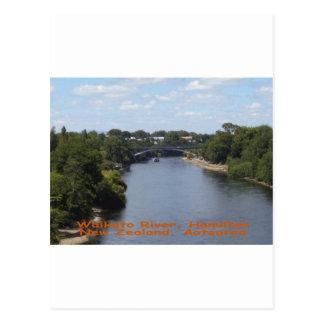 Waikato River, Hamilton Postcard