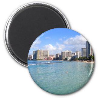 Waikiki Beach, Oahu, Hawaii Magnet